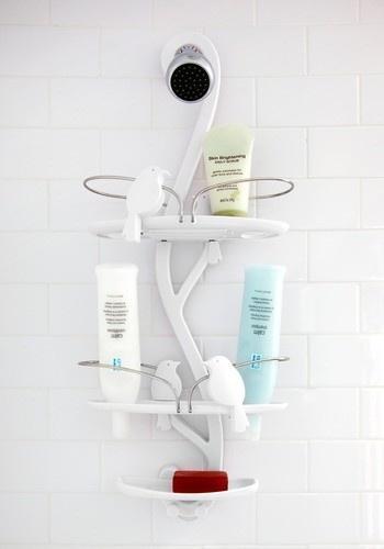 bathroom shower caddy - nice!: Birds Shower, Shower Storage, Shower Caddy, Extra Soar Ag, Birds Bath, Bathroom Shower, Soar Ag Shower, Retro Vintage, Bath Products