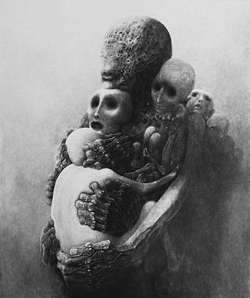 Zdzisław Beksiński - This is just friggin weird!