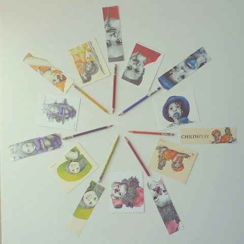 True Colors Collection bookmarks and note cards
