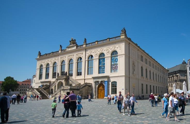 Dresden Transport Museum (Verkehrsmuseum Dresden), Special exhibition: »Germany becomes mobile. 175 years of the Leipzig--Dresden Railway« (08/04/2014 - 28/09/2014)  http://www.verkehrsmuseum-dresden.de/en/