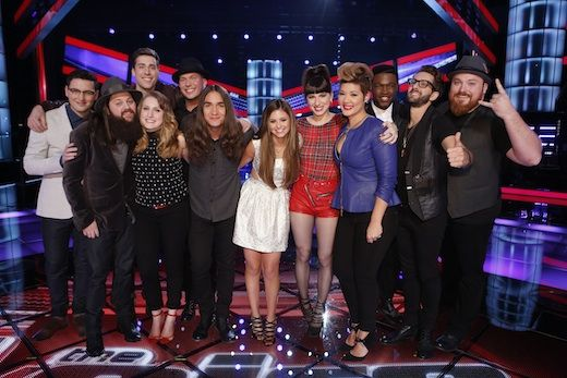 Top 12 on 'The Voice'