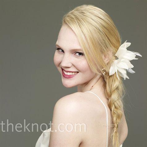 Go beach-chic with an intricate fishtail braid.