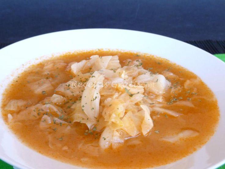 Receta de Deliciosa y saludable Sopa de repollo