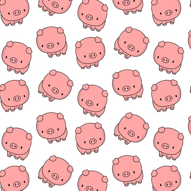 Cute Baby Pig Pattern Pig Pattern Cute Png And Vector With Transparent Background For Free Download Cute Baby Pigs Baby Pigs Pig Wallpaper
