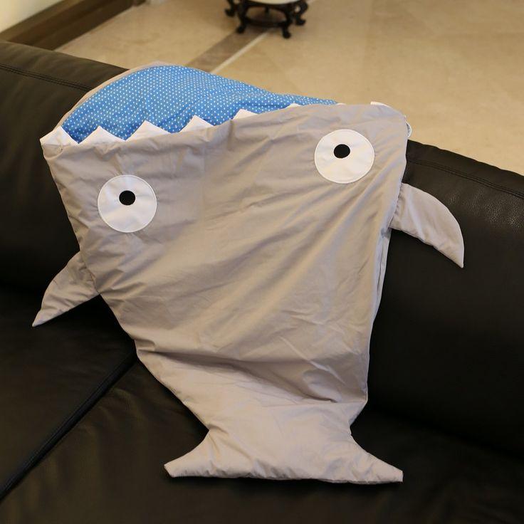 Creative Shark Blanket by Blankie Tails Sleeping Bag For Kids
