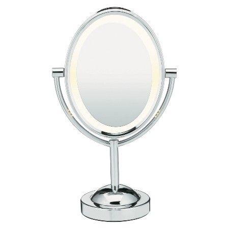 Conair Oval Chrome Double-Sided Mirror : Target