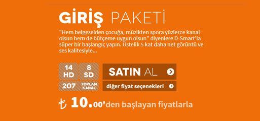 Dsmart Paketleri | D-SMART