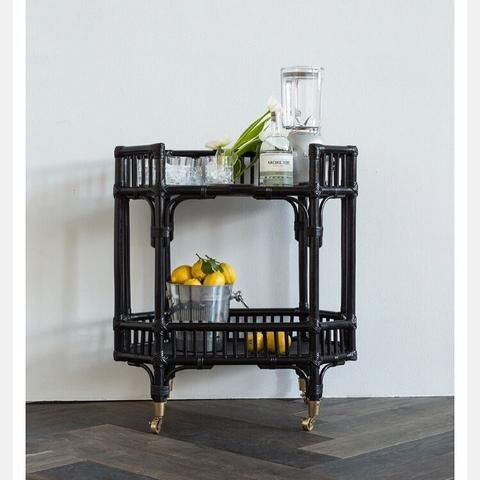 Byron Bay Bar Cart/Side Table ( PREORDER FOR June 2017)