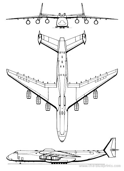 Antonov An 225 Mrija Templates Views