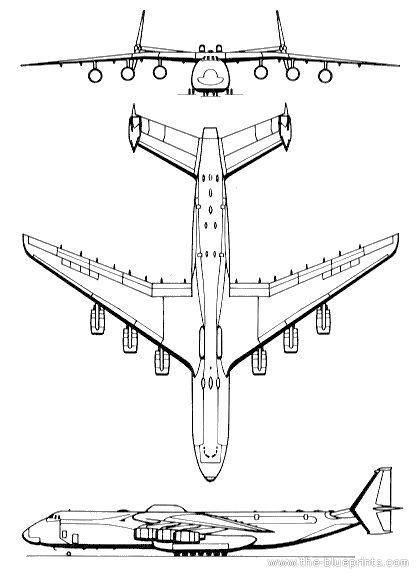 Antonov An 225 Mrija Templates Views