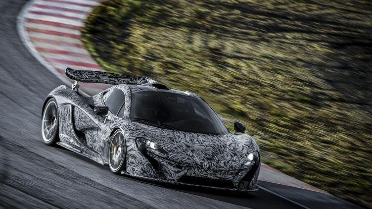 The McLaren P1 Has The Best Camouflage Ever Mclaren p1