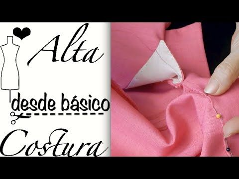 Alta Costura Clase 54B, Cómo pegar cuello sport a Blusa