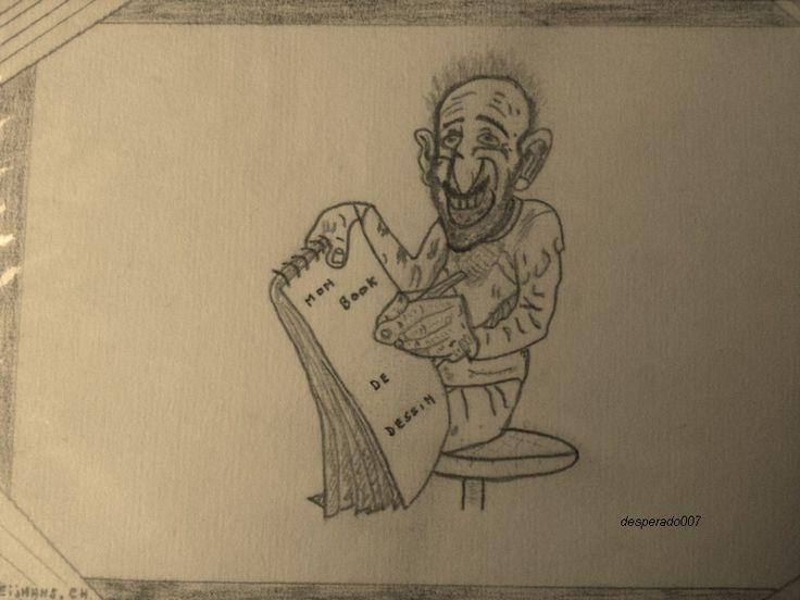 Juste pour rire (mon autoportrait)
