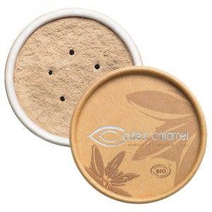 ce fond de teint minral de couleur caramel convient tous les types de peaux - Coloration Qui Tient Longtemps
