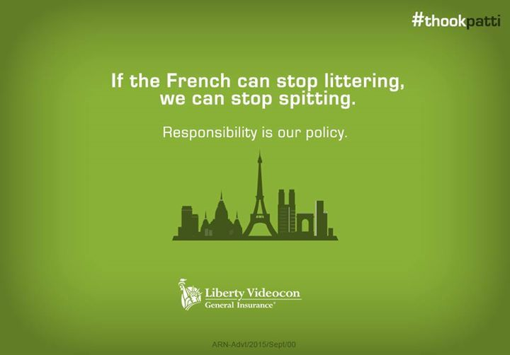 If Paris can commit and succeed in keeping its city clean, we too can stop public spitting.   #ThookPatti