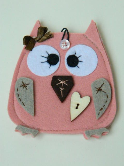1000+ images about Feltro oggetti - felt crafts on Pinterest