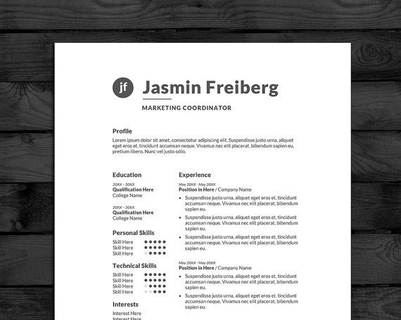 40 best Resume Templates images on Pinterest Cv resume template - free sales resume template