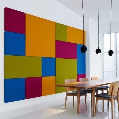 Kumaş Kaplı Akustik Duvar Panelleri - http://www.sesizolasyonu.com.tr/kumas-kapli-panel  #sesyalıtımı #akustiksünger #sesizolasyonu