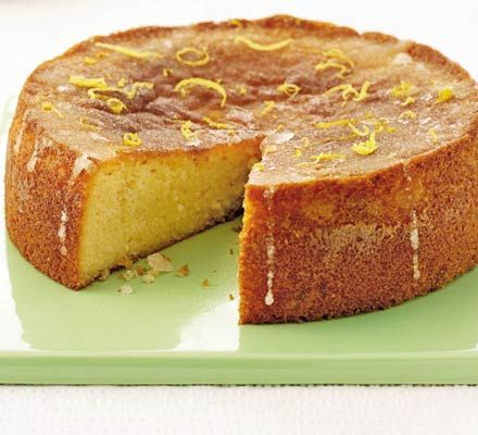 Gluten free lemon drizzle cake, made using mashed potato & ground almonds. I have tried it, scrumptious, fantastic recipe, shall be making it again.