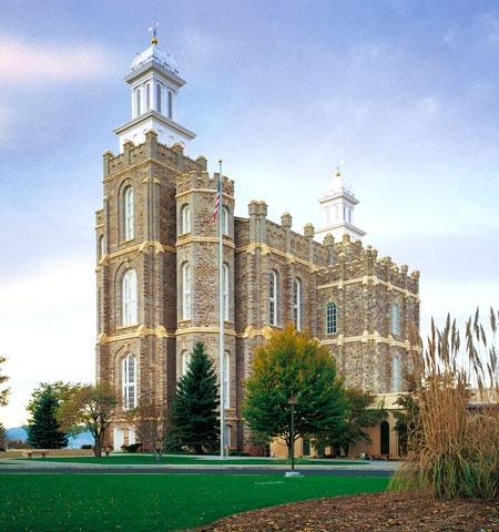 Logan Utah Temple    #MormonLink #LDSTemples
