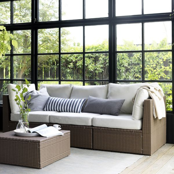 The IKEA ARHOLMA Series Is Lounge Furniture Made For Outdoor Living! Made  Of Hand Woven Plastic Rattan, Itu0027s A Stylish And Practical Addition ... Part 61