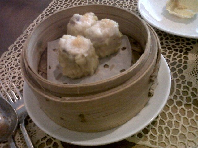 Siomay dimsum at Table Eight Mulia Hotel