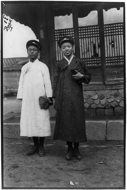 Korea - Seoul - Y.M.C.A. boys