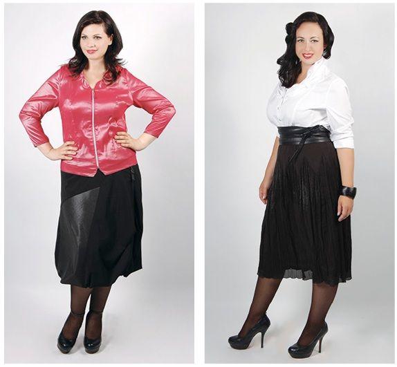мода для полных 2012, одежда больших размеров