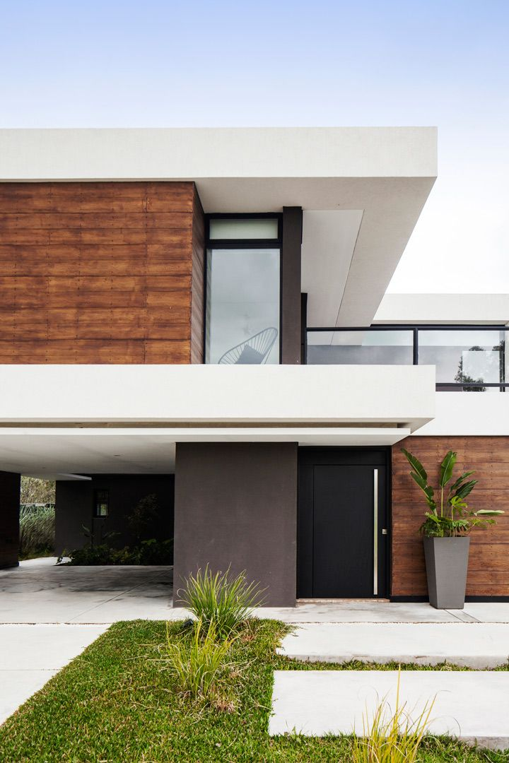 Estudio Lmarq Arquitectos Casa Terra 201 Portal De Arquitectos Portal De Casas Minimalistas Modernas Fachadas De Casas Modernas Modelo De Casas Modernas