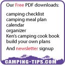 Free camping tips downloads