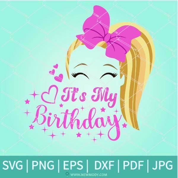 Jojo Siwa Birthday Kid Sublimate Designs