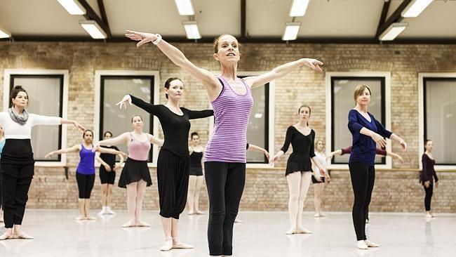 Queensland Ballet adult dance classes.