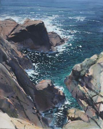 Cliffs near Porthgwarra