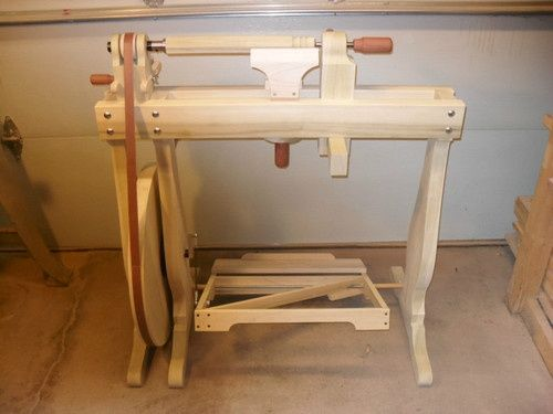 Treadle lathe plans bing images woodworking tips for Home made sauna designs