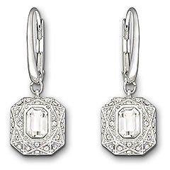Swarovski Sophisticated Pierced Earrings SWAROVSKI. $95.00