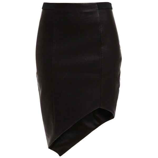 Faux Leather Bodycon Skirt ❤ liked on Polyvore featuring skirts, mini skirts, fake leather skirt, faux leather bodycon skirt, leather look skirt, faux leather skirts and vegan leather skirt