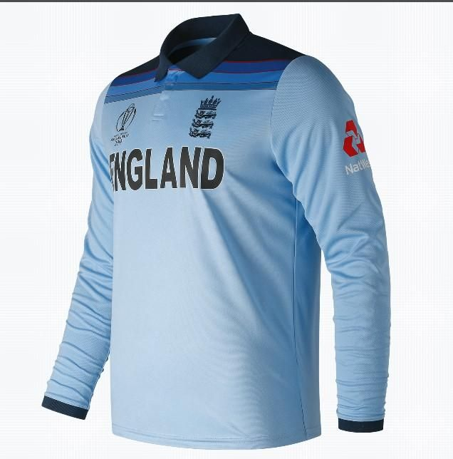 Designed And Manufactured By New Balance This England Cricket One Day International Jersey Features A Re Sport Shirt Design Sports Shirts England Cricket Team