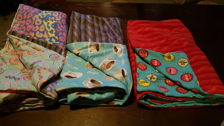 Blankets for my kiddos! These were fun to make :)