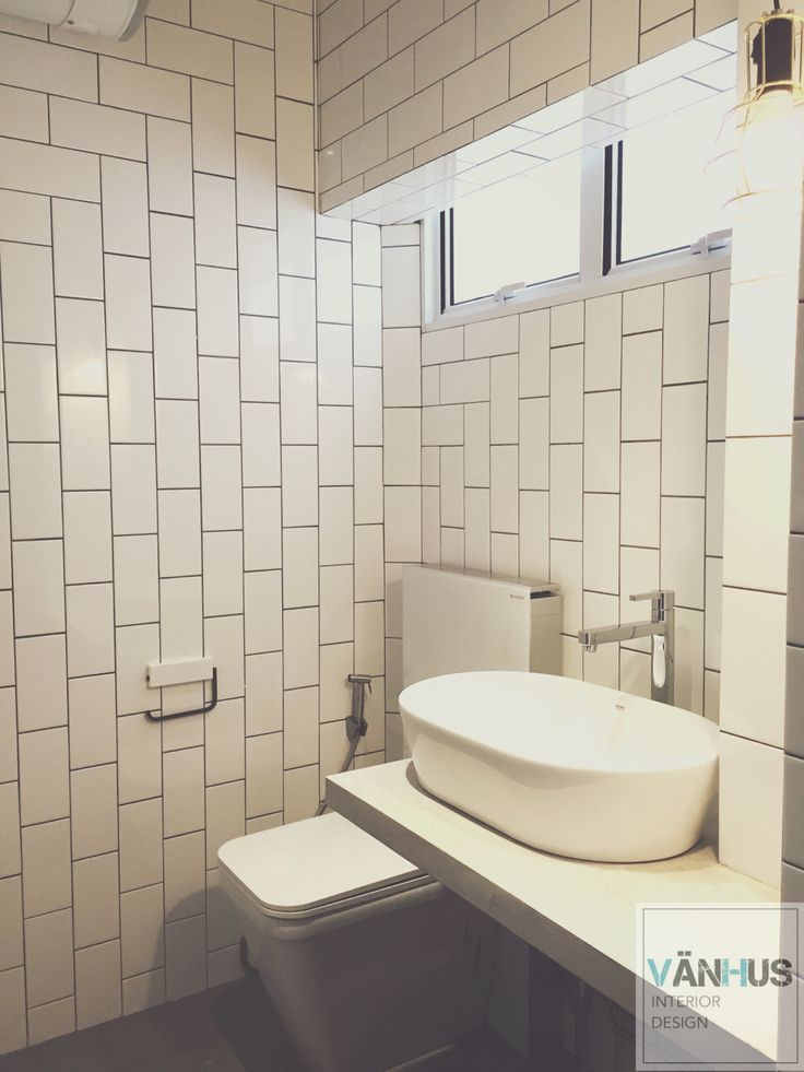 Hdb Bathroom Subway Tiles Van Hus Project Pinterest