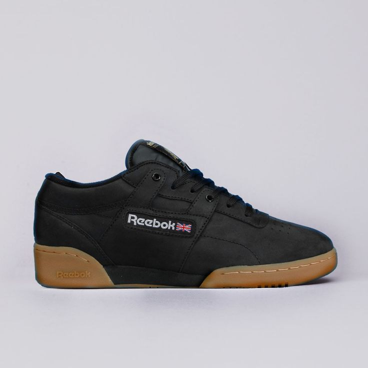Flatspot - Palace X Reebok Workout Black / White / Metallic Gold