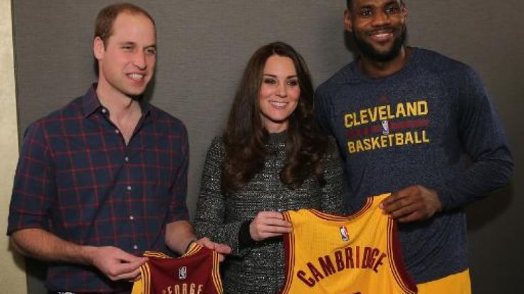 pics of lebron james with william and kate | Bild: William, Kate und LeBron James- Foto - Newsticker-News1 (AFP ...
