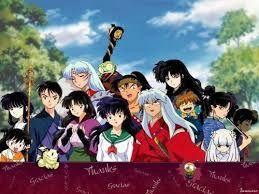 todos los personajes de inuyasha que salen casi siempre en la serie.