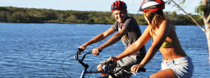 Bike On Australia lists some great Noosa Family Rides.  1. The Surf Beaches Trail from Peregian Beach to Noosa Junction 2. The River Ride from Tewantin to Noosa Heads 3. The Waters Ride - the Noosa Waters circuit 4. The Weyba Creek Wanderer - from Gympie Terrace to Noosa Junction. Click on the link to their website for maps and more info.