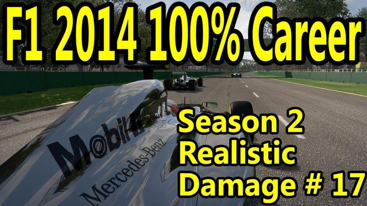 F1 2014 Gameplay PC : 100% Race Brazil 1080p HD F1 Game Career Mode Seas...