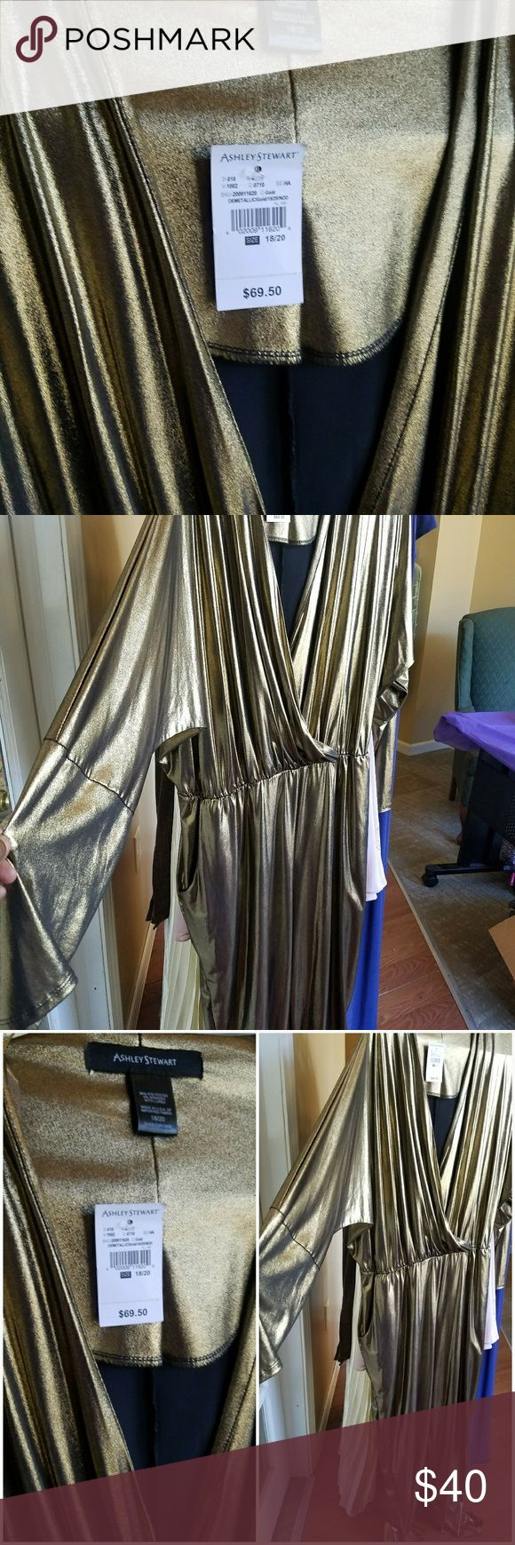 New outfit Gold Party Jumper Pants Jumpsuits & Rompers