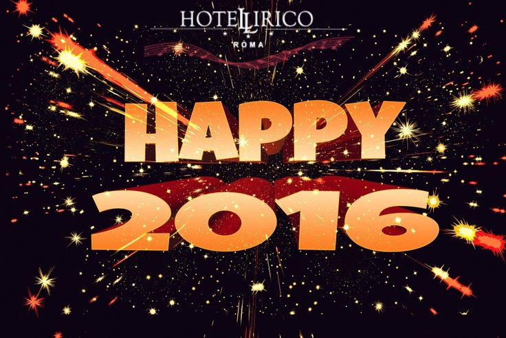New Year's 2016 in #Rome at the #Hotel Lirico with a Great OFFER - 59,00 € per person per day with Buffet Breakfast - free wifi - Sky tv Free in english
