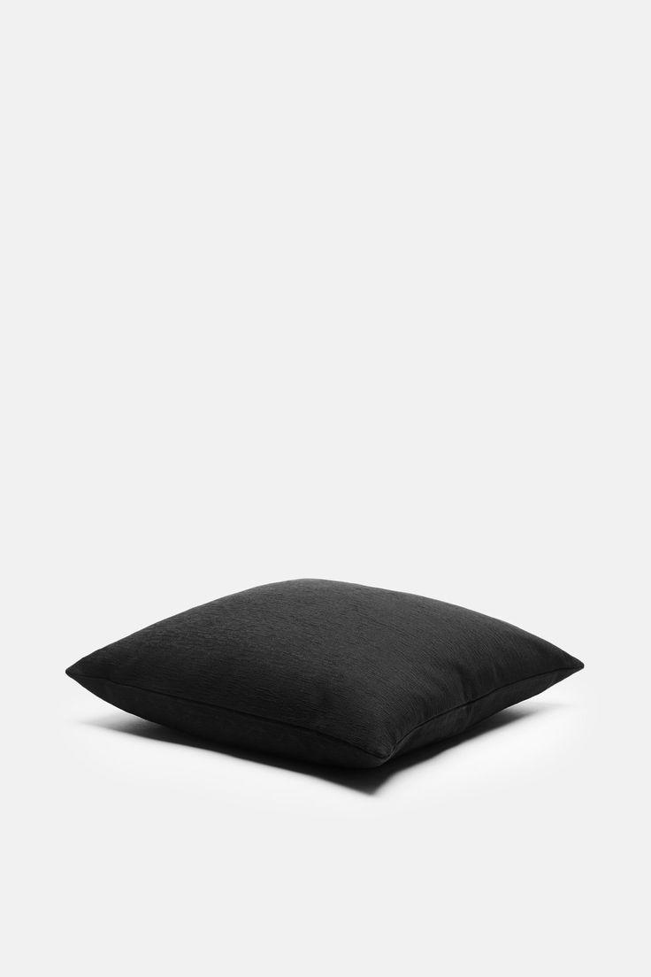 Square Toss Pillow - Black