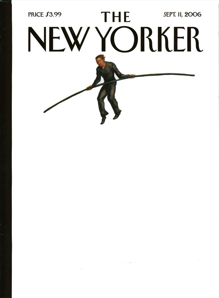 Couverture du magazine The New Yorker - Philippe Petit, The Man On Wire