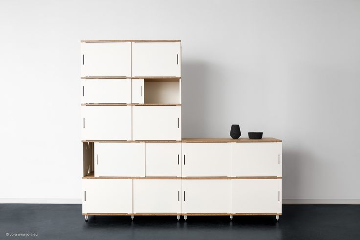 Stow storage system by Jo-a. Modular storage furniture for ...