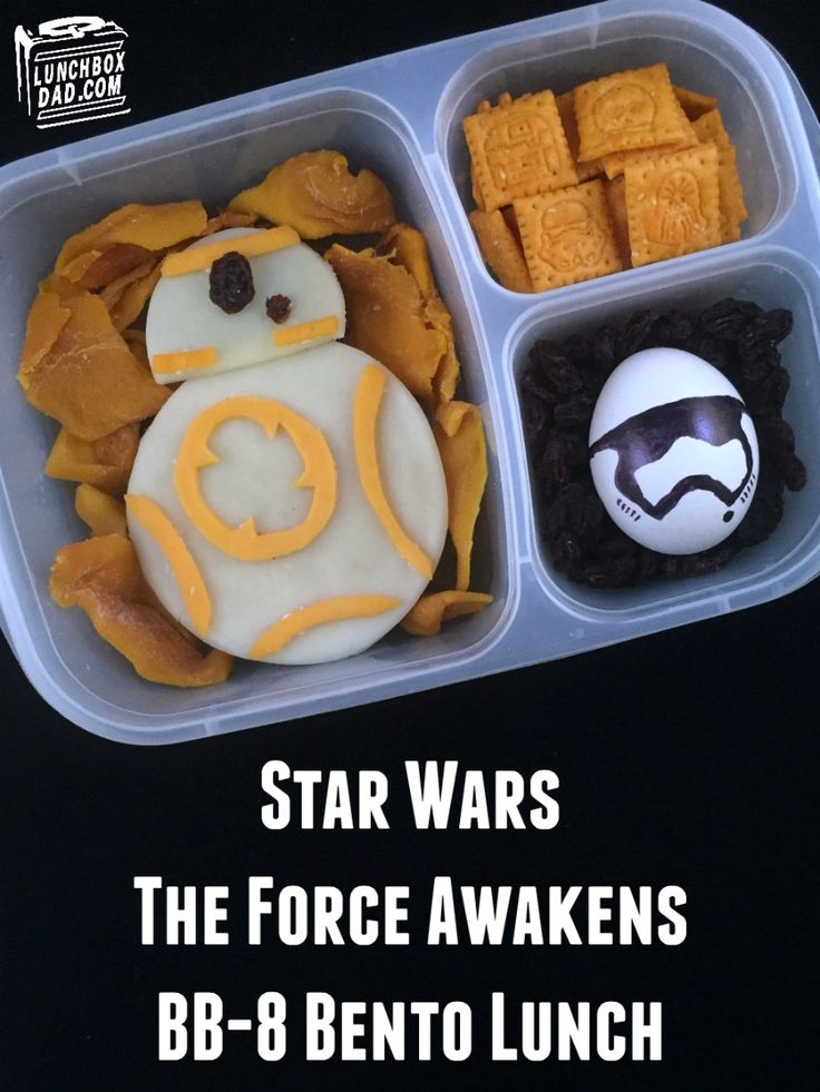 Lunchbox Dad: How to Make a Star Wars The Force Awakens BB-8 Bento Lunch